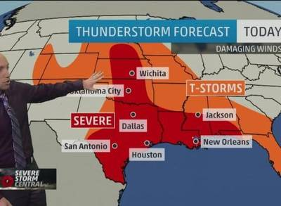 Severe weather incoming tornadoes possible one news page video